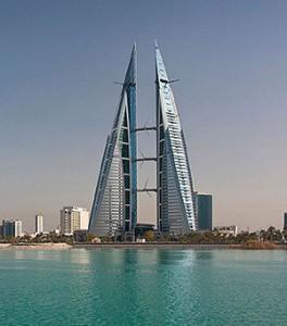Ståtlig byggnad i Bahrain