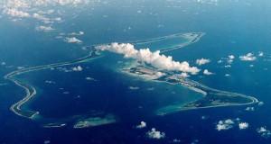Chagosöarnas huvudstad Digeo Garcia
