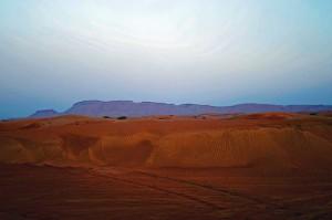 Öken vid Dubai