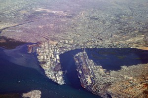 Karachi är en viktig hamnstad i Arabiska havet