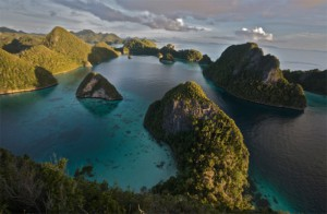 Småöar i Indonesien