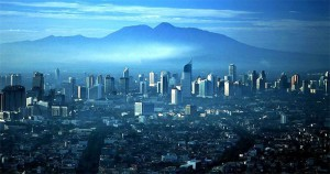 Jakarta ligger på Java
