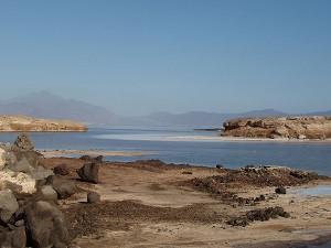 Lac Assal är världens saltaste sjö