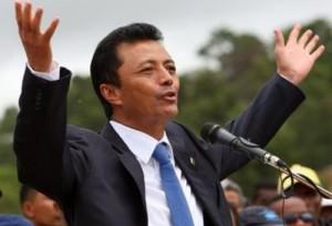 Marc Ravalomanana var president i Madagaskar från 2002 till 2009