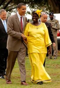 Wangari Maathai i Nairobi