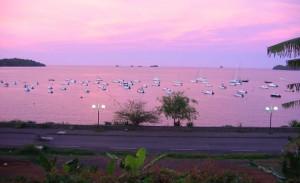 Båtar i Mayotte