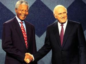 Sydafrika blev befriat från apartheid