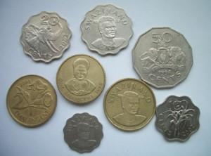 Mynt i Swaziland